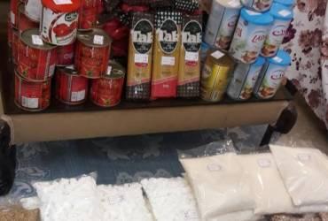 بسته غذایی بهمن ماه توزیع گردید