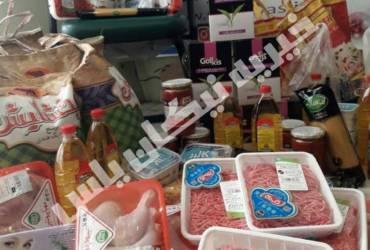 اغاز پخش بسته های غذایی و پوشاک عیدانه